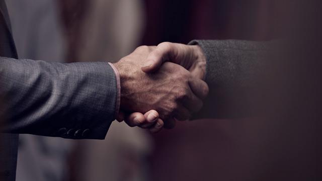 handshake small overlay