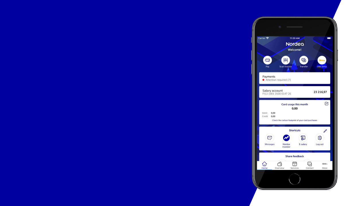 Mobile Pay Nordea