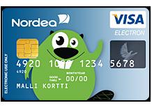 Nordea debit kort och itunes
